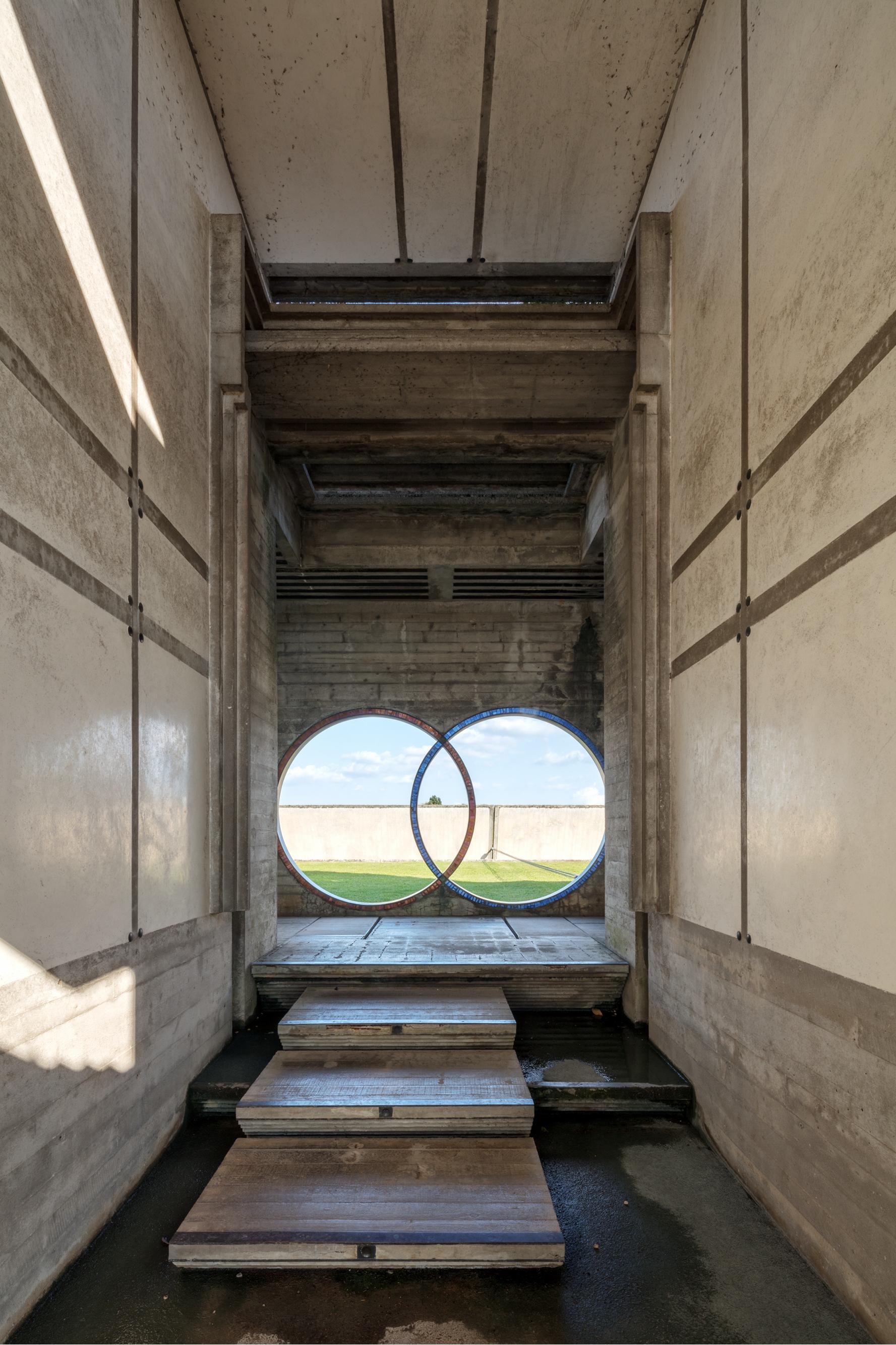 Brion Cemetery Entrance Exitarch Carlo Scarpa Federico Covre