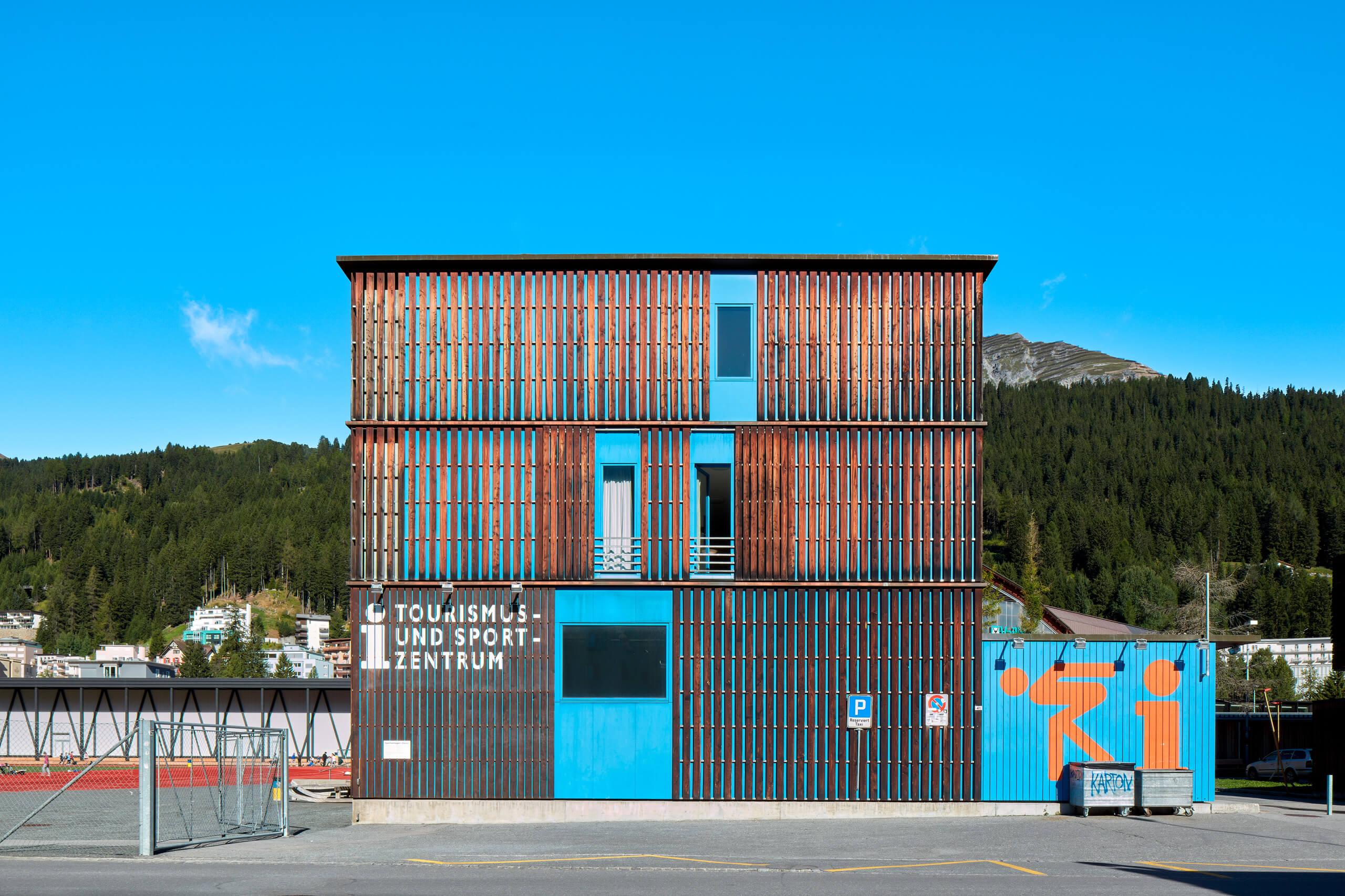 Sportzentrum<br>Gigon Guyer Architekten