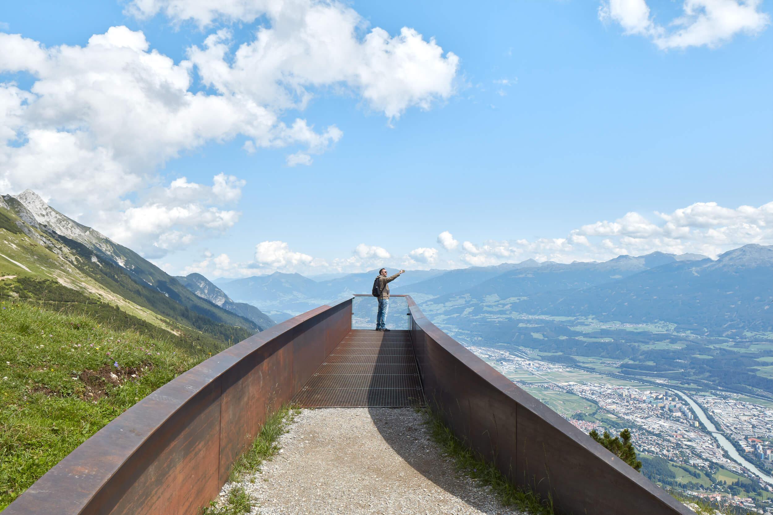 Perspektivenweg – Nordkette
