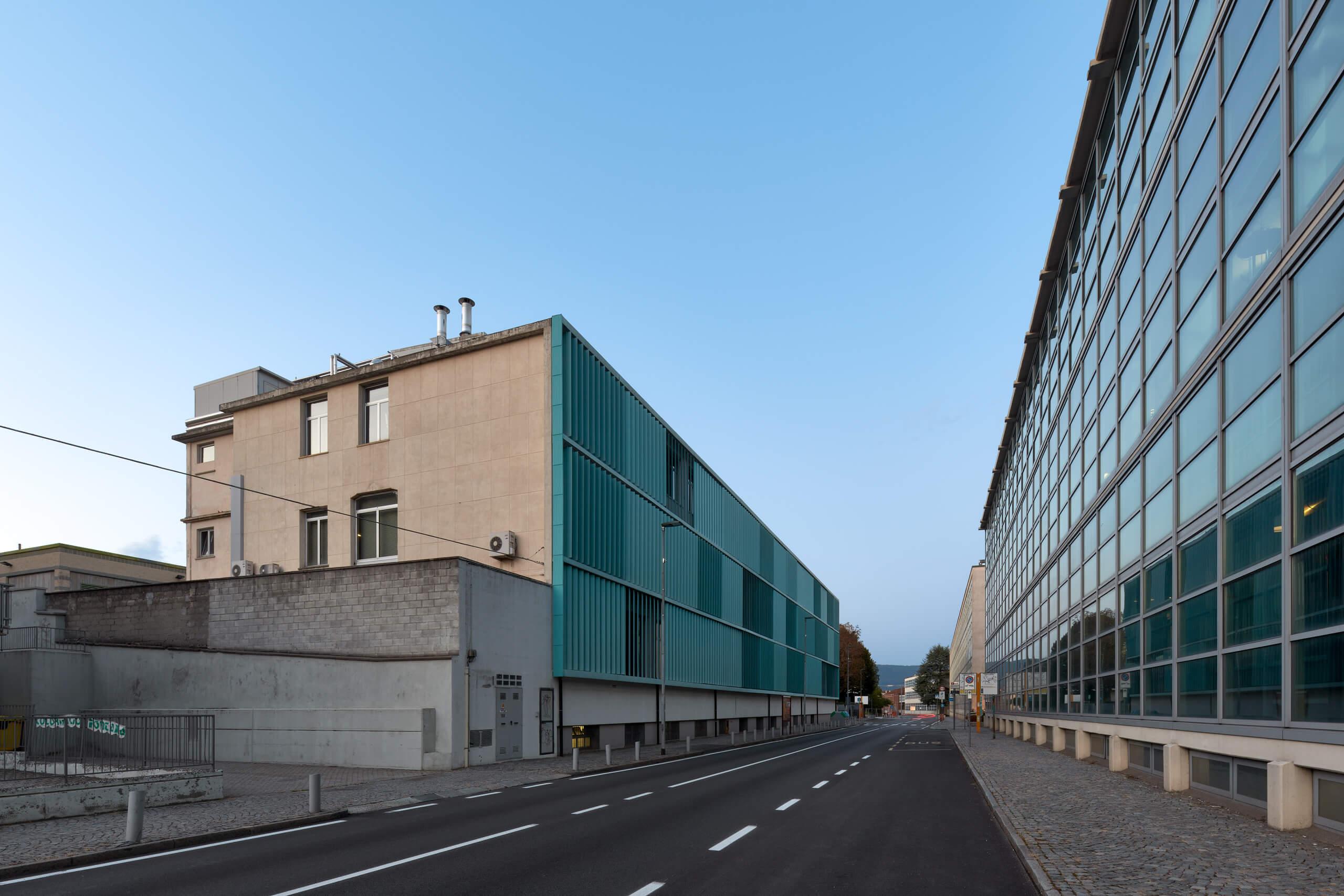 Officine ICO – Luigi Figini  Gino Pollini – Ivrea – Italy