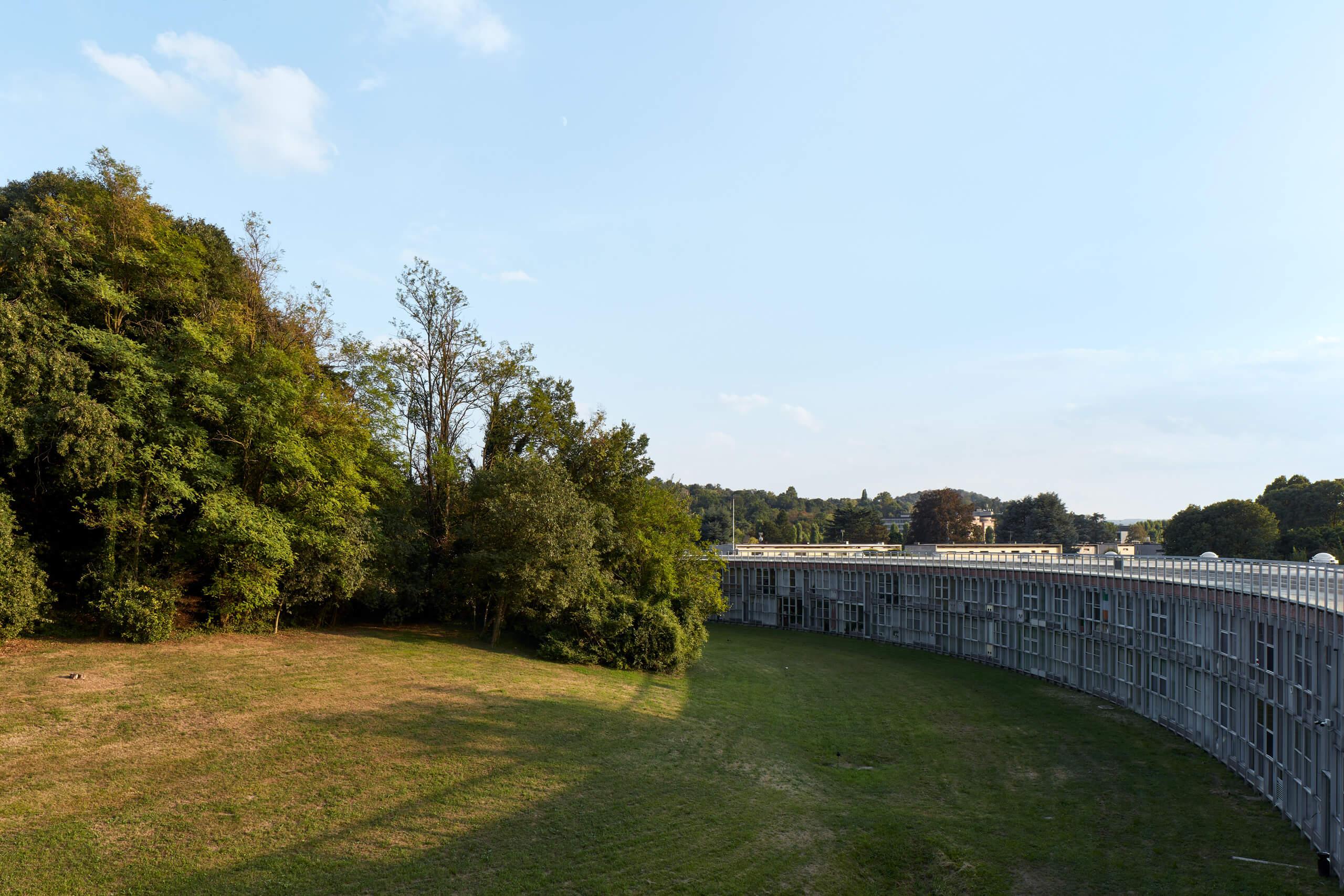 Unità residenziale Ovest<br>Talponia<br>Arch. Gabetti D'Isola