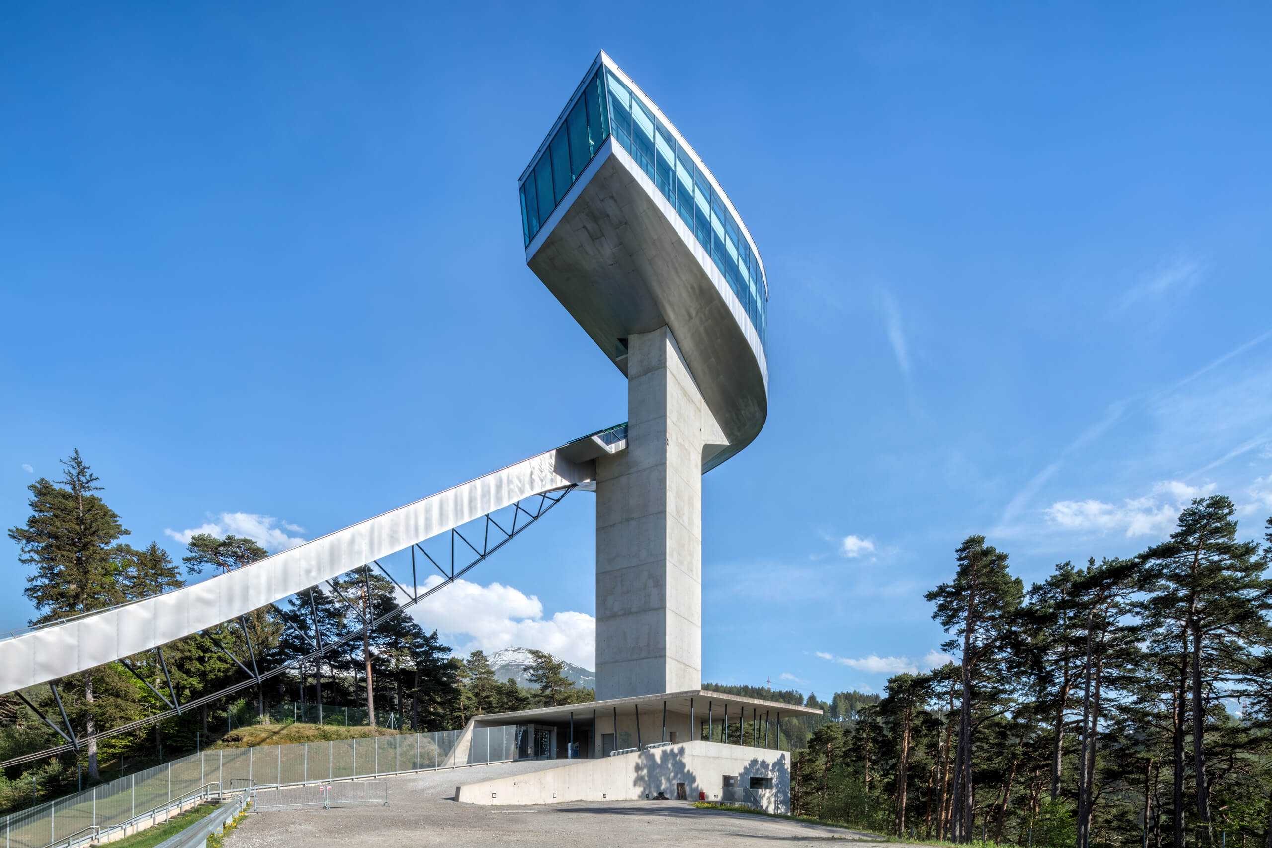 Bergisel Ski Jump – Zaha Hadid Architects