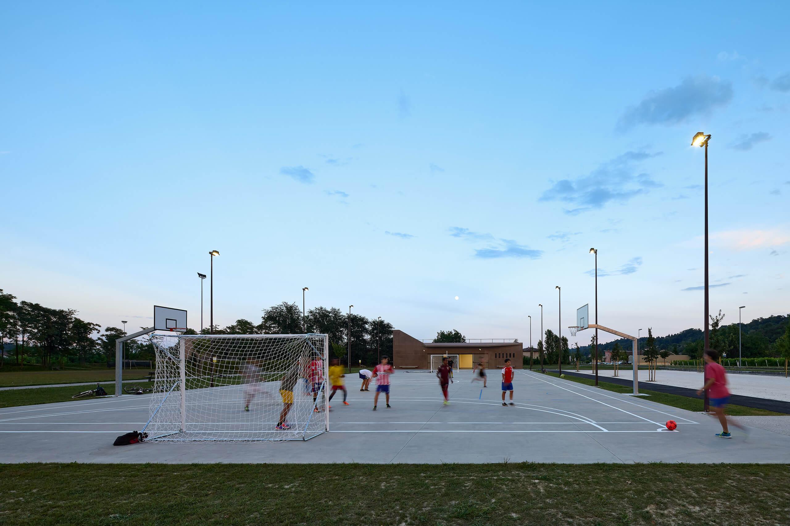 Bagnolo's Park<br>GZA Gaetan Zara Architetti