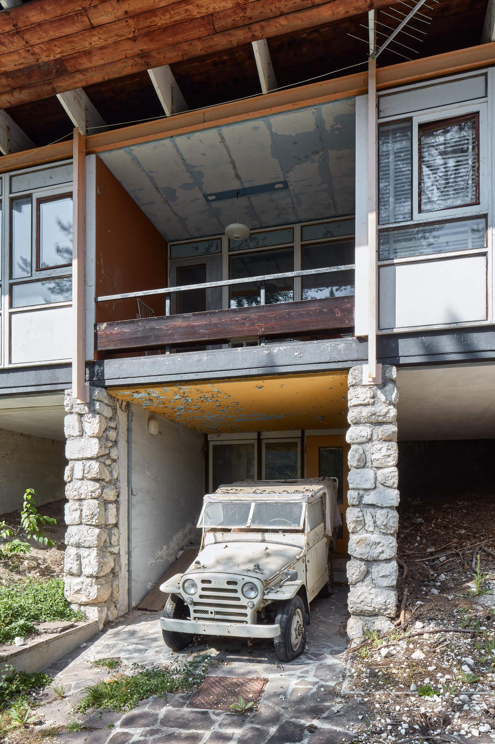 Colonia Montana ENI – Villaggio Turistico Agip – Arch. Edoardo