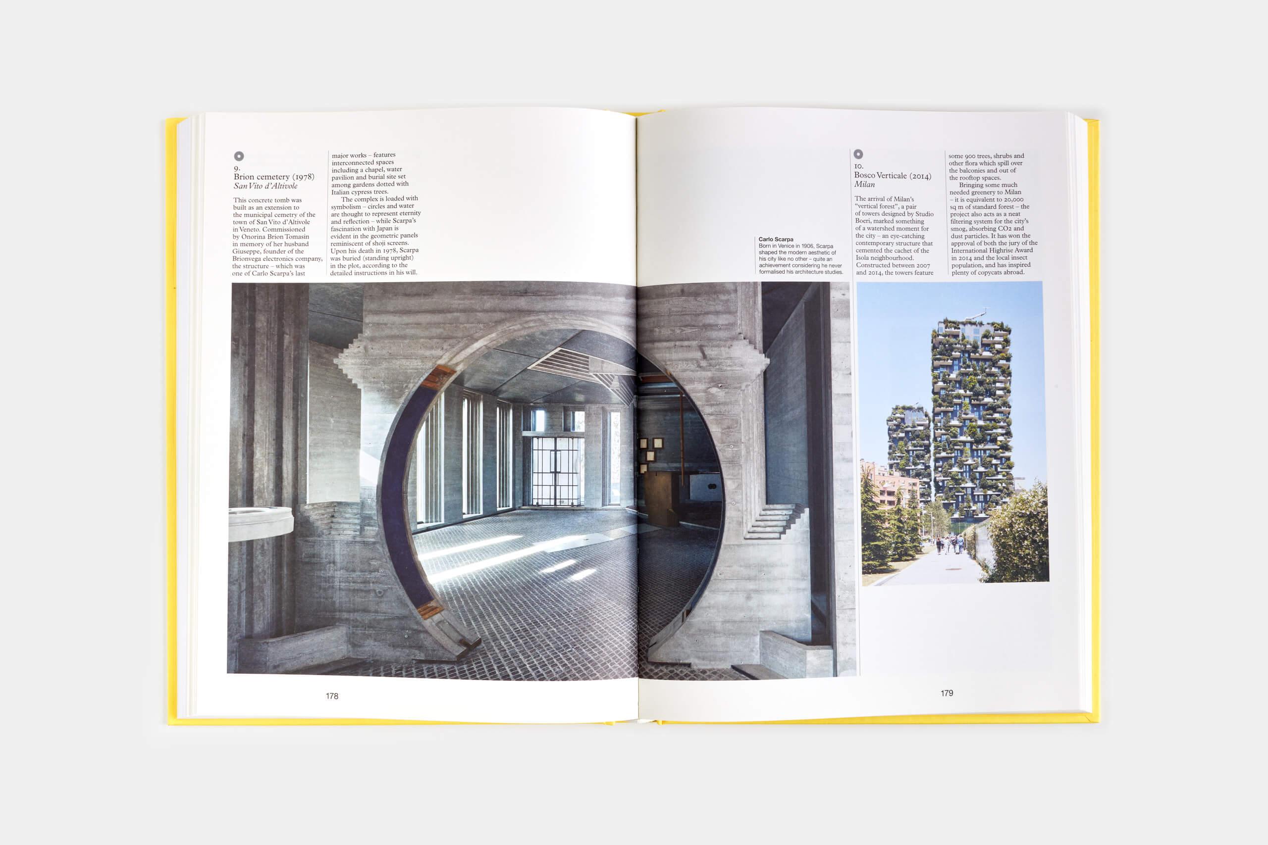 Tomba Brion – Architetto Carlo Scarpa – The Monocle Book of Italy
