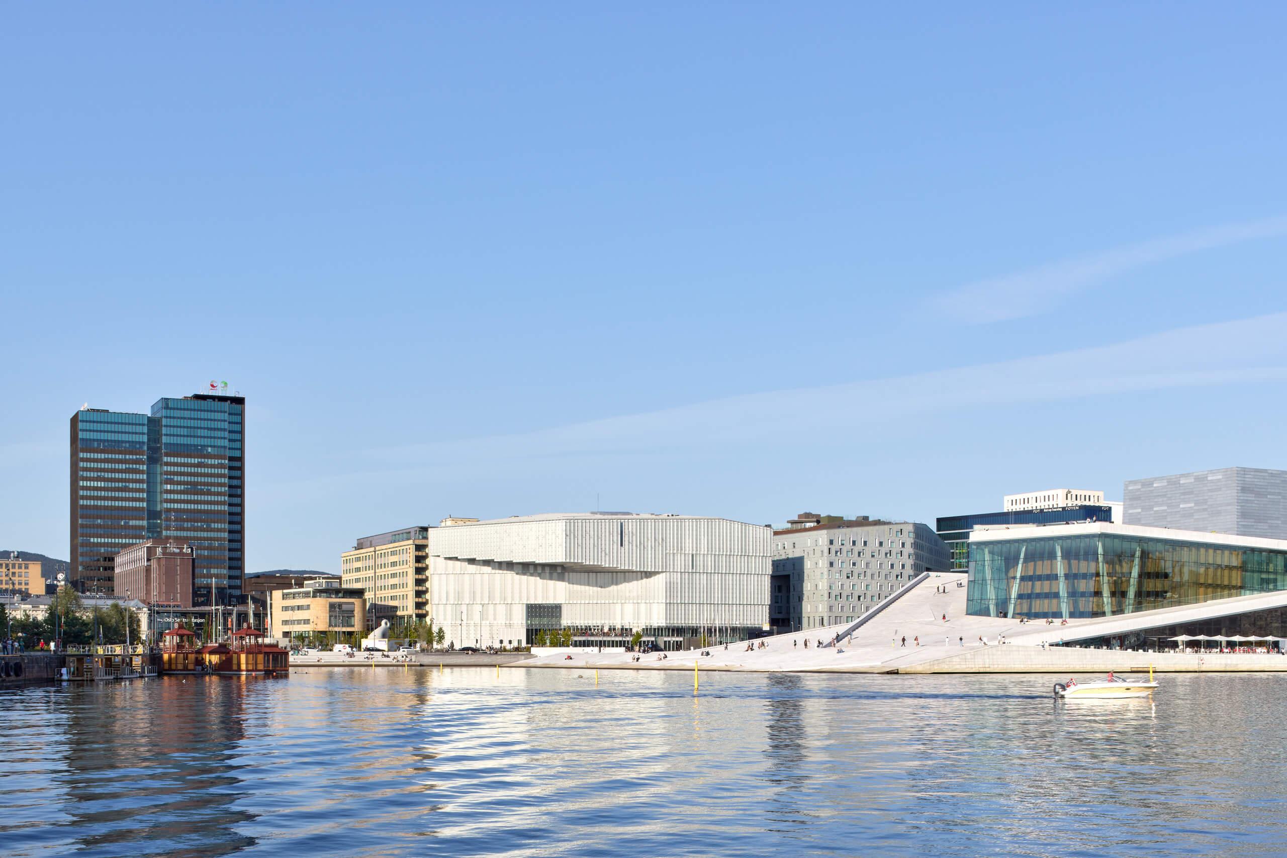 Deichman Bjørvika – Atelier Oslo / LundHagem – Oslo – Norway